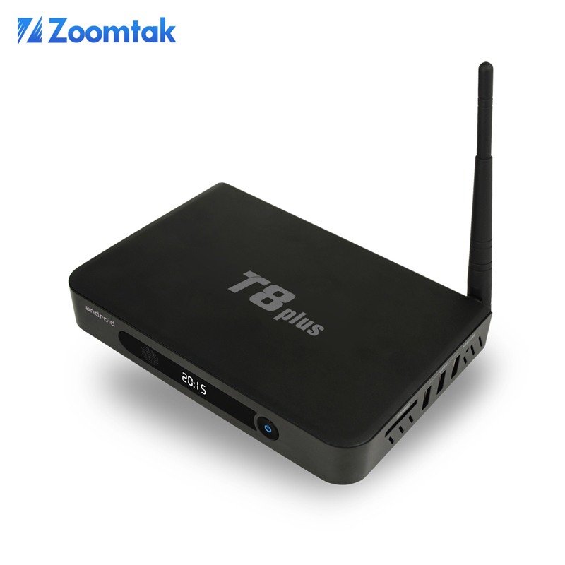 Kodi 16.0 TV BOX 4K H.265 Android Smart TV BOX Come with 2/16gb eMMC Support OTA Update