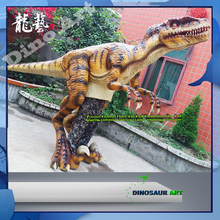 Customize adult walking animatronic dinosaur realistica costume for sale