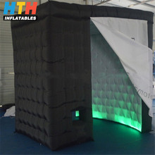 Unique black color air photo booth for party birthday events