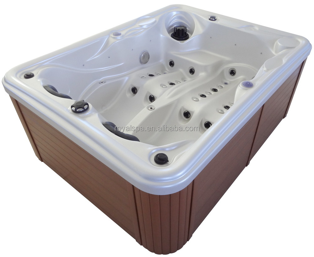 2 Person Adult Massage Spa Hot Tub With Led Light Buy