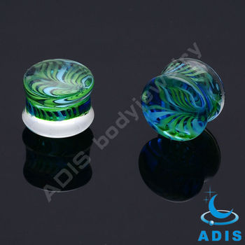 wholesale gauge hand made piercing in pyrex glass manufacturer