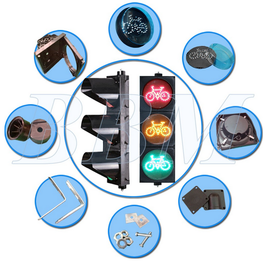 200mm Non Vehicle Traffic led lamp