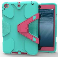 Rugged Kickstand geometry PC TPU Tablet Cover Case For ipad 2017 new 9.7 inch cases