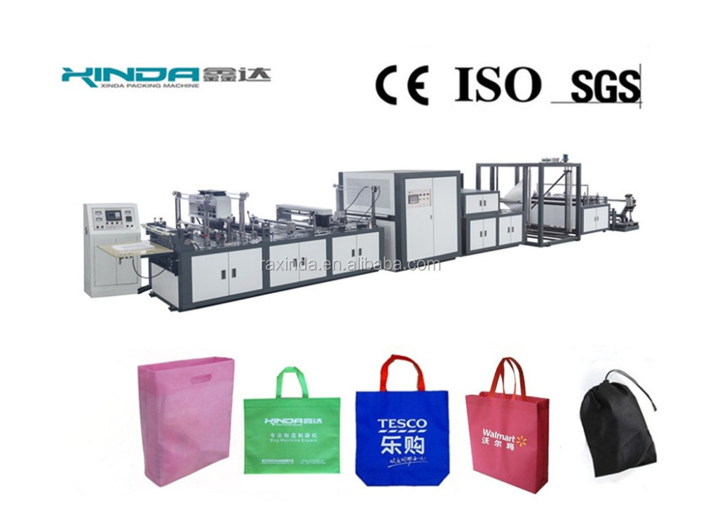 non woven bag with handle making machine price
