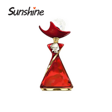 Wholesale perfume women body shaped glass bottle for 200ml