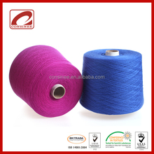 7, 9, 12, 14, 16,18 gauge use 100% cashmere best china yarn for textile design