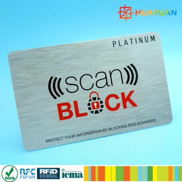 HUAYUAN Secure RFID Blockers Protect your Credits payment Card or ID card