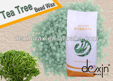 2016 Hot Tea Tree Depilatory Wax in Beads with MSDS Certification 1000g