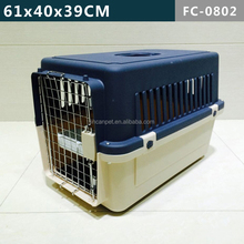 PP Material & Stainless Plastic Dogs Transport house Products/ cage/ carrier: Durable & Soft