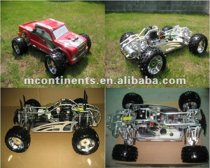 1/5 2.4G RTR 4WD gas nitro monster truck baja with reverse