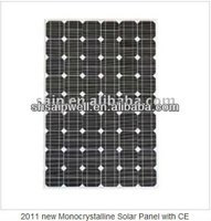 2012 new Monocrystalline Solar Panel with CE