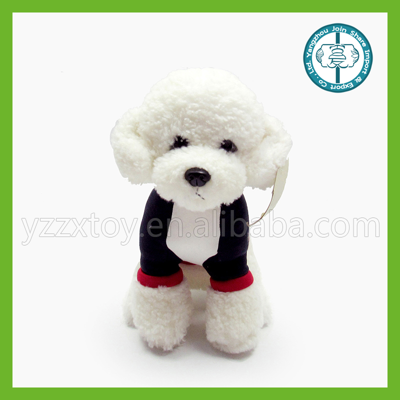 Beautiful and cute plush dog toy with long legs
