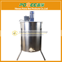 Hot Sale Stainless Steel 4 Frame Electric Honey Extractor
