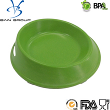 High Quality Eco Friendly Anti Skid Natural Straw Plastic Slow Food Feeder Pet Bowl Dog Bowl