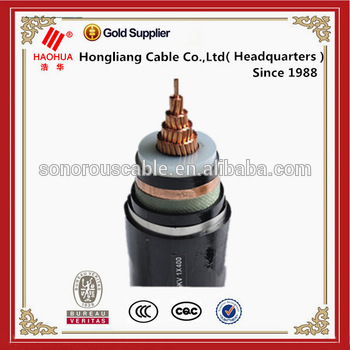No.1621 - 33kV XLPE cable high voltage power cable 70mm2 95mm2 120mm Electric cable