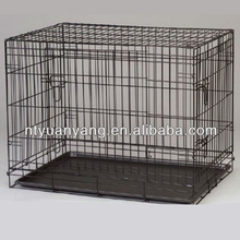 Retail customized size wire folding pet crate dog cage