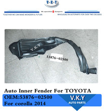 53876-02500 Auto Inner Fender For TOYOTA