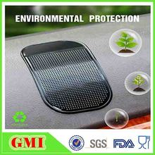 wholesale magic pu gel sticky anti slip car pad for mobile phone
