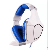 2015 New design gaming headset , high quality with Led light USB headphone