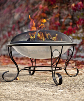 "29"" Stainless Steel outdoor Fire pit"