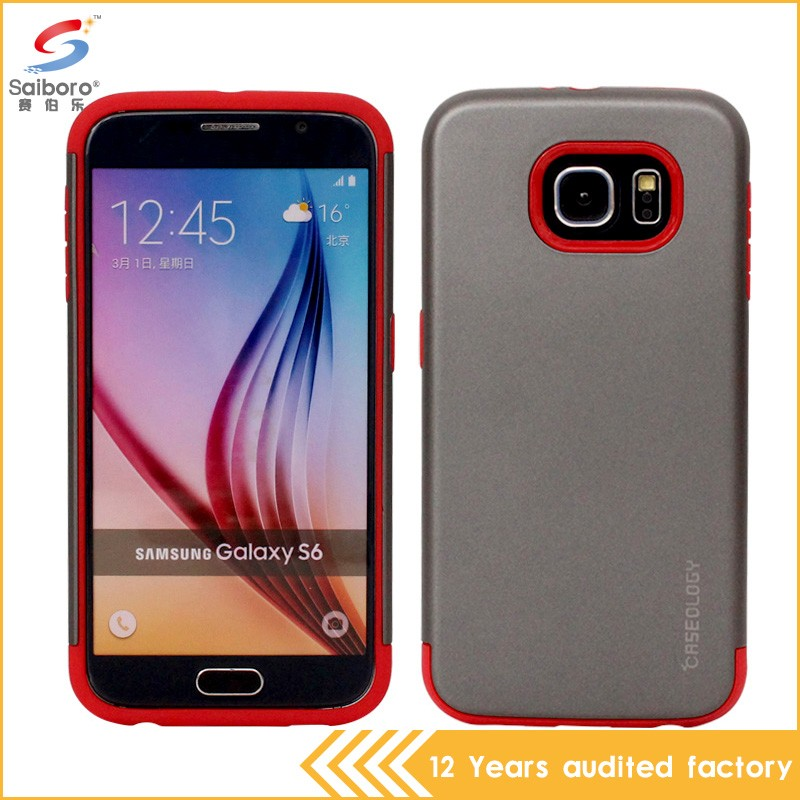 Top sale high quality dot view case for samsung galaxy s6