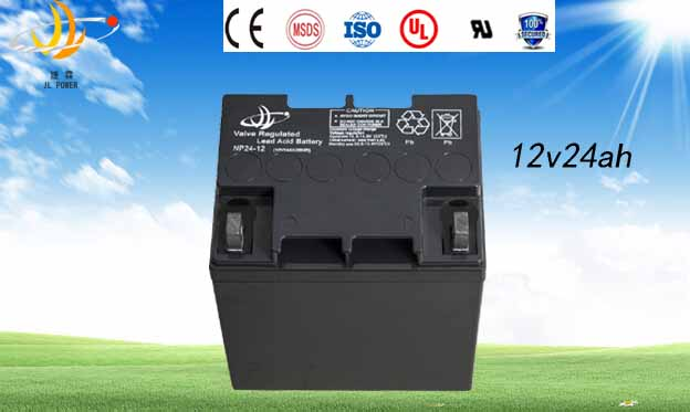 High quality Best price solar power storage UPS battery AGM battery 12v 24ah sealed lead acid battery for solar & wind system