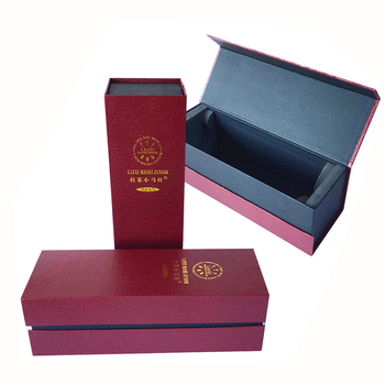 grape wine designer replica gift box luxury paper board
