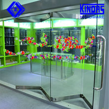 high quality frameless glass folding door