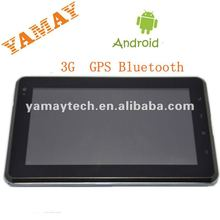 New! Low price 7 inch 3G sim card tablet gps Bluetooth