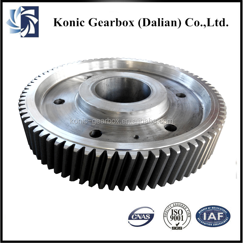 high quality steel custom roll teeth processing helical gear