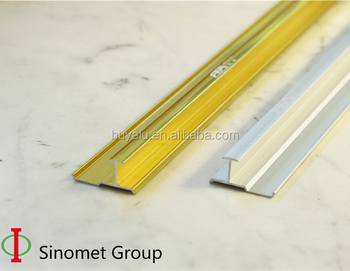 Aluminium tile edge trim flooring transition trim for decoration