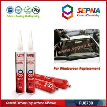 Waterproof Polyurethane Windsheild Adhesive for Glass