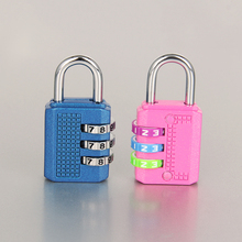 3 Digit Combination Travel Padlock for Gym fitness
