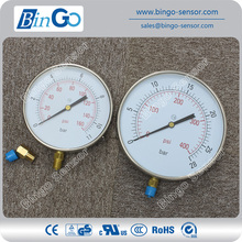 ABS Plastic bourdon tube pressure gauge
