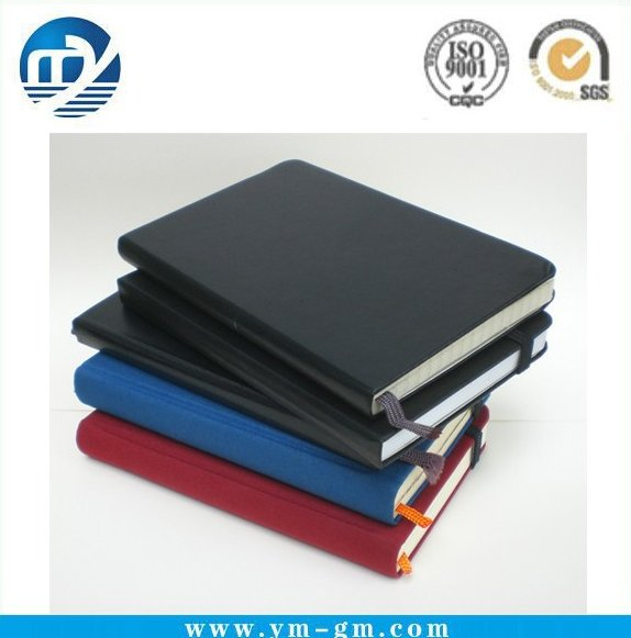 High Quality Promotional Recycled Leather Bound school Notebook