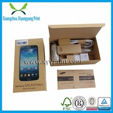 High quality cheapest custom mobile phone packing box for Samsung