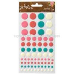 Rain Dots Original Dimensional Epoxy Stickers