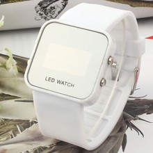 Led silicon watch erotic automaton pocket watch for children