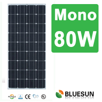 china top manufacturere 4bb monocrystalline solar panel 80w 85w 100w 130w 140w 150w