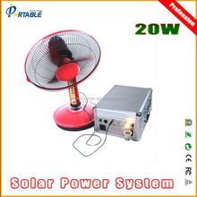 20W solar panel kits for home grid system and fridge fan