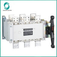 AC 110V 220V 380V 690V Dual power MTS Changeover Switch Manual transfer switch 1A~3200A for Generator