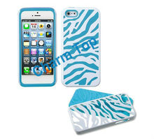 Zebra Combo Case for iPhone 5