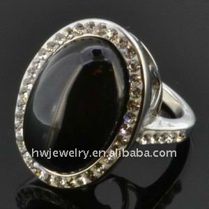 fashion shull crystal ring