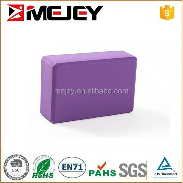 Fitness Wholesale EVA Foam Yoga Block Yoga Brick For Fitness Person