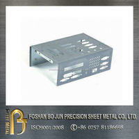 Bo Jun precision sheet metal fabrication custom extrusion aluminum metal enclosures for electronics