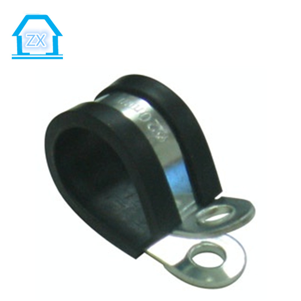 Molded rubber lined hose clamps tube clip buy clamp