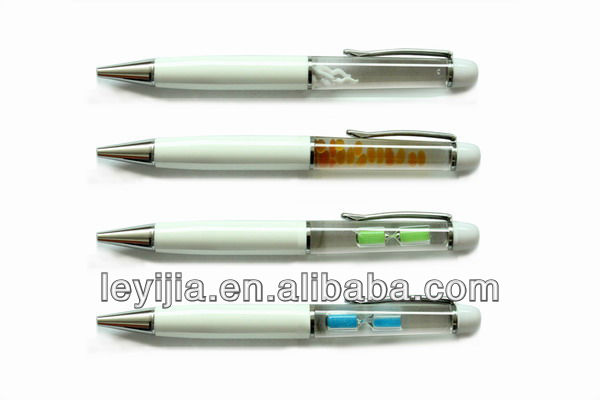 Custom pens floating liquid metal pen business cooperated gift - LY139