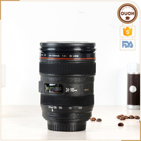 Multifunction Plastic Caniam Camera Lens Coffee Mug, Pen Holder