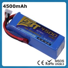 Cheap Price 7.4V 4500mAh 2s 45C Li-ion Battery Pack Helicopter Lipo Battery for Car Truck Boat Airplane