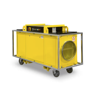 Industrial Electric Heater 40 kW 3,000 m3/h 600 Pa